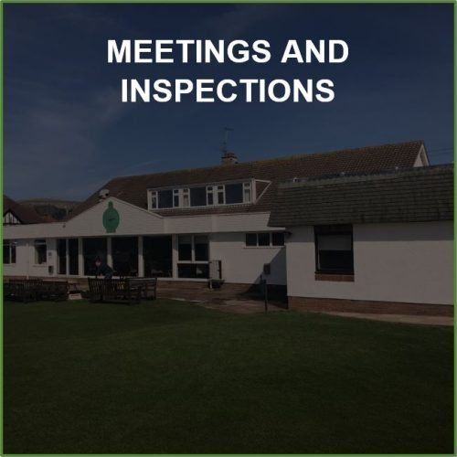 Meetings and Inspections