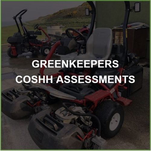 Greenkeepers COSHH Assessments