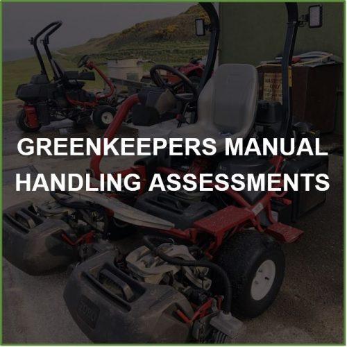 Greenkeepers Manual Handling Assessments