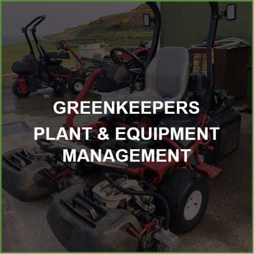 Plant & Equipment Management